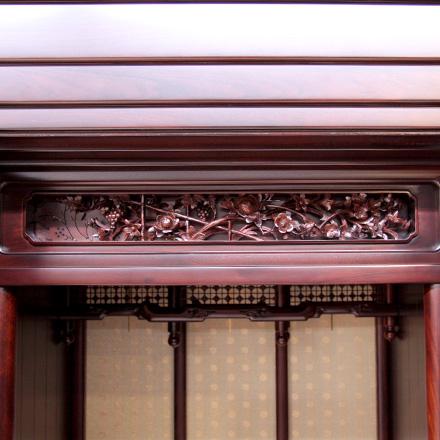 20号 紫檀 空 唐木仏壇