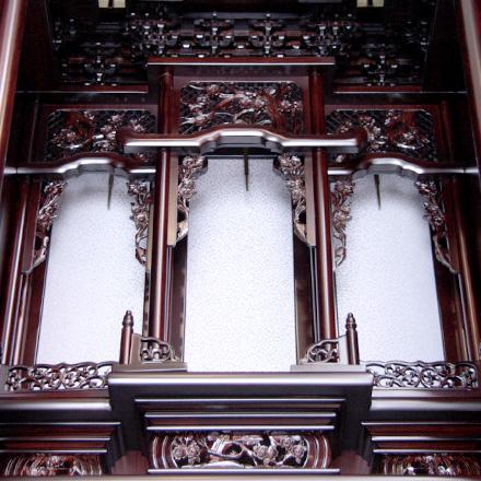 唐木仏壇 紫檀調 18号春香