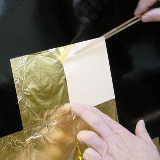 手作り教室 金箔貼り講座
